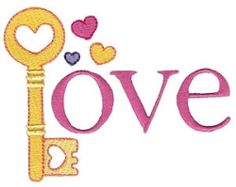 Loving You 4 - 2 Sizes! | Words and Phrases | Machine Embroidery Designs | SWAKembroidery.com Bunnycup Embroidery