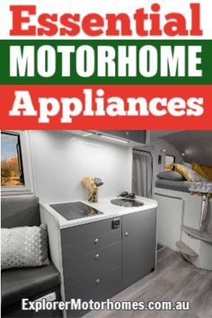 Travelling around Australia in a motorhome is one of the great joys of this world... the second is coffee! And therefore a coffee maker is one of the essential appliances for our motorhome! Here are other items that we think are essential for enjoying your travels in your motorhome, caravan, campervan or camper trailer. #motorhomeappliances