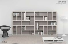 Decorating Slim Wooden Bookcase Small Bookshelf Design Wooden Book Self Design Make the Most of Modern Bookcases Large Bookcase, Small Bookshelf, Wooden Bookcase, Bookshelf Wall, Modern Bookshelf, Bookshelf Design, Home Office Design, House Design, Hanging Bookshelves