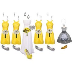 grey ND YELLOW WEDDING COLORS | wedding so i had to show you how to have a gray and yellow wedding ...