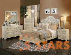Marilyn 6pc Bedroom Set