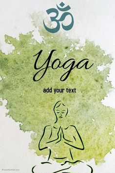 Find Design Templates For Yoga Class Easy To Customize Download And Print Or Purchase