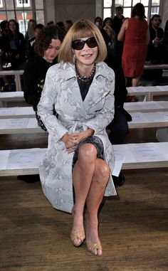 1ccebbba53 Anna Wintour Photos - Anna Wintour attends the front row for the Nicole  Farhi show on day 3 of London Fashion Week Spring Summer at RIBA on  September 2012 ...