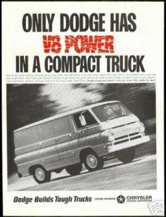 #Dodge Cargo Van V-8 Power Truck Vintage Photo (1966) - #Manassas - Lindsay Manassas Chrysler Dodge Jeep Ram
