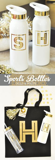 Personalized Water Bottles make the perfect gift for teacher appreciation week. Teacher Gift she will love! by Mod Party