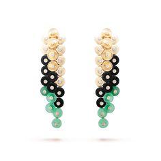 Bouton d'or earrings, Gold-VCARO77200-Van Cleef & Arpels