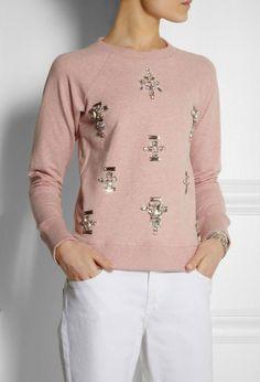 25 Stylish Sweatshirts to Cozy Up With STAT via Brit + Co.