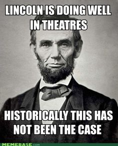 #Lincoln #false #theatres