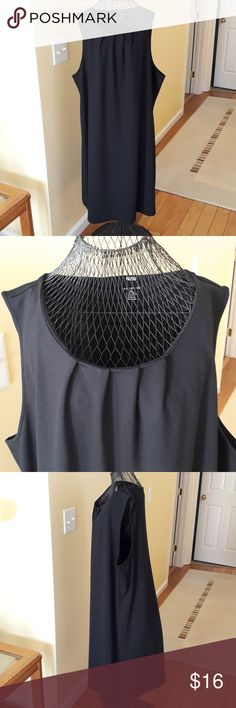 "NEW Lands' End Black Flowy Summer Dress New dress with no flaws. 3X (24W - 26W) Length: 40.25"" Arpmpit to armpit: 27"" Lands' End Dresses"