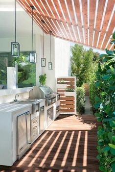 Basic Kitchen Area Concepts For Inside or Outside Kitchen areas – Outdoor Kitchen Designs Rustic Kitchen Design, Outdoor Kitchen Design, Kitchen Layout, Kitchen Designs, Outdoor Kitchen Bars, Backyard Kitchen, Bbq Kitchen, Kitchen Decor, Outdoor Island