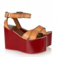 Cheap Isabel Marant Wedge Sandals Zora laque cuir Hot Sale, Discount Isabel Marant Sneakers