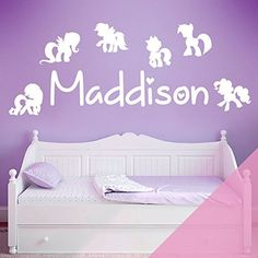 bedroom pony decal removable mural kid sticker