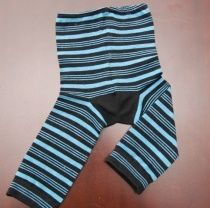 5 minute baby toddler leggings using 2 adult socks sewn together! EASY!