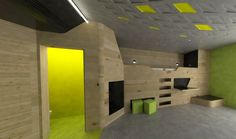 LAVA Reinvents the Youth Hostel With Sport Oriented Design in Bayreuth