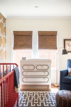 As the mother of a nine week old baby, naturally I spend quite a bit of time in his nursery. You may recall I decorated it as part of the Ca...