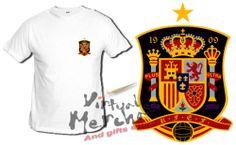 Camiseta SELECCION ESPAÑOLA tshirt t-shirt xxl brasil futbol mundial 2014 españa | eBay
