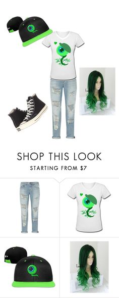 """Jacksepticeye inspired outfit"" by baconkat ❤ liked on Polyvore featuring rag & bone, Converse, youtube, gamer and Jacksepticeye"