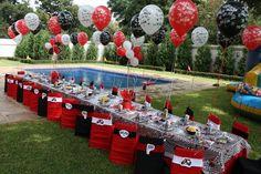 como decorar mesa de cumpleaños - Buscar con Google