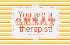 Celebrate National PT Month.  Order these FREE therapist appreciation cards today! Pinned by myPTsolutions.  Follow us at pinterest.com/myptsolutions