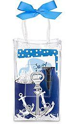 Anchors Away Ice Bag Gift Set