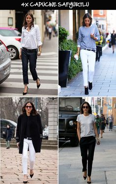 {Stockholm street style}{Street peeper}{VOGUE Australia}{Style bistro} Capucine Safyurtllu, fashion & market editor of Vogue Paris, is a fan of basic pieces, clean cuts and black and white outf...