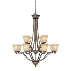 Capital Lighting 3412CS-287 12 Light Chandelier Belmont Collection- You will not believe the price!