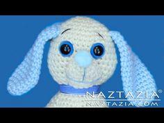 DIY Learn How to Crochet Dog Pup Puppy Doggy Toy Amigurumi Stuffed Animal Pet - YouTube