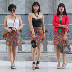 #OOTDMTL IS QUEENIE, LILIANNE, THERESE! #ootd #fashion #style #streetstyle #bloggers http://ootdmontreal.com/2014/07/09/ootd-montreal-is-3girls1dress/