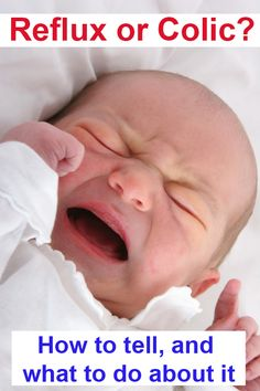How to tell if it's reflux or colic and help your baby sleep