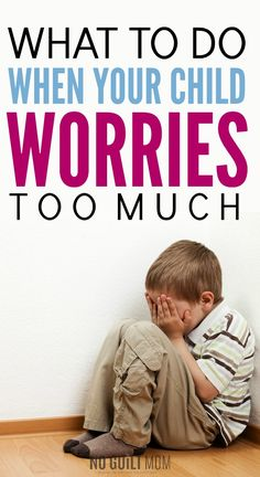 I feel so helpless when my daughter or son worries too much? These tips for kids teach me how to calm their fears and lessen their anxiety. Perfect parenting help for the anxious child and a great stress reducer for you to! #anxiety #parenting
