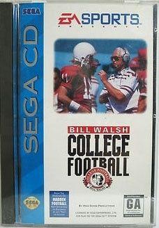 Bill Walsh College Football Sega Cd Pinterest Bill Walsh And