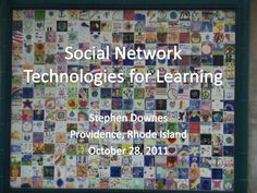 Social Network Technologies for Learning