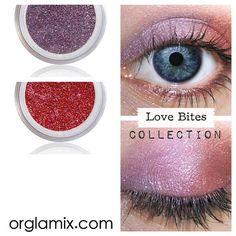 Eyeshadow Kit - Vampire- Mineral Makeup Eyeshadow - Eye Shadow Kits Palettes - Natural MAC Cosmetics - Eye Makeup Sets - Vegan Cruelty Free by orglamix