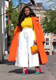 Curvy Fashion, Plus Size Fashion, Girl Fashion, Fashion Looks, Fashion Outfits, Stylish Outfits, Cute Outfits, Look Office, Mode Plus