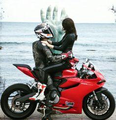 hope you enjoy the cafe racer inspiration. Cuddle With Boyfriend, Boyfriend Goals, Scooter Motorcycle, Ducati Motorbike, Biker Couple, Custom Sport Bikes, Cafe Racer Style, Cute Love Couple, Biker Gear