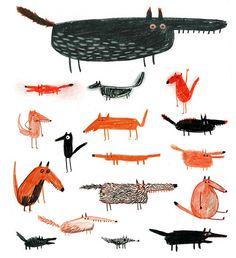 Illustration crush: Erica Salcedo.