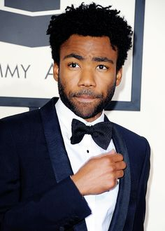 Childish Gambino at the 57th annual Grammy Awards in Los Angeles, California February 8, 2015.