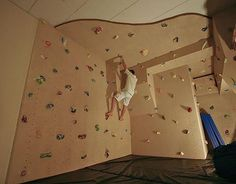 Indoor Climbing Wall, Rock Climbing, Best Man Caves, Bouldering Wall, Gym Room At Home, Ultimate Man Cave, Man Pad, Man Cave Home Bar, Retro Videos