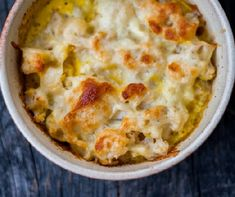 Rakott csirke karfiollal Recept képpel - Mindmegette.hu - Receptek Meat Chickens, Cake Cookies, Cheeseburger Chowder, Mashed Potatoes, Macaroni And Cheese, Food And Drink, Soup, Lunch, Healthy Recipes