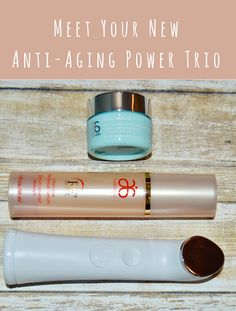 Meet Your New Anti-Aging Power Trio, the Arbonne Genius Ultra Kit. #Arbonne #beautybrite