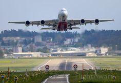 Take off from Zuerich / Switzerland