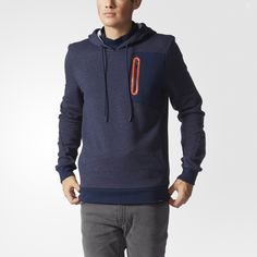 ADIDAS NEO MENS FLEECE HOODIE AY9931AY5758GREYDARKBLUE Mens Fleece Hoodie, Adidas Neo, Athletic, Hoodies, Jackets, Fashion, Down Jackets, Moda, Sweatshirts
