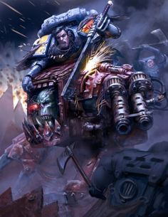 """We may be few, and our enemies many. Yet so long as there remains one of us still fighting, one who still rages in the name of justice and truth, then by the Allfather, the galaxy shall yet know hope. Warhammer 40k Rpg, Warhammer 40k Space Wolves, Warhammer Fantasy, Orks 40k, Martial, Grey Knights, Angel Of Death, Space Marine, Sci Fi Art"