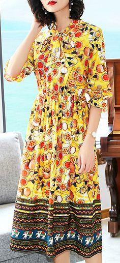 c4a776a8f0 Holiday Folk Half Sleeve Lacing High Waist Maxi Dress