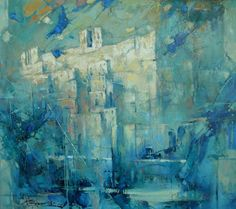 "Waclaw Sporski ""Yershalaim"" 80х90 Oil On Canvas sporskiart.com"