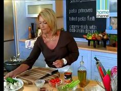 Sharon Glass' 'Food In A Flash' TV series Episode 13 of 13 - Italian Ron Glass, Flash Tv Series, Fusilli, Cooking Videos, Pesto, Healthy Recipes, Meals, Youtube, Food