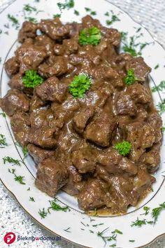 Przepis: Belgijska wołowina po flamandzku w piwie, czyli Carbonnade a la Flamande - Pieknowdomu.pl #pieknowdomu #przepisy #recipes #polishfood #polishrecipes Polish Recipes, Diet Recipes, Food And Drink, Beef, Meat, Healthy Diet Recipes, Ox, Ground Beef, Steak