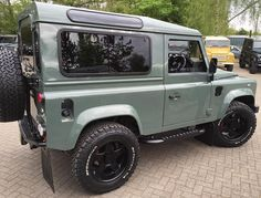 Giverny Green Defender 90, Land Rover Defender, Suv 4x4, Land Rover Series 3, Car Throttle, Sprinter Camper, Truck Paint, Mens Toys, My Ride