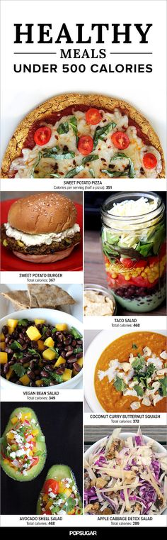 Lose Weight With These 50+ Meals Under 500 Calories