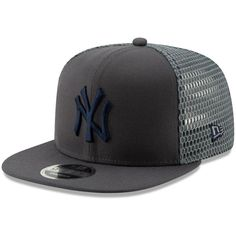 Men s New York Yankees New Era Graphite Mesh Fresh 9FIFTY Adjustable  Snapback Hat 1d6e4b8abb7